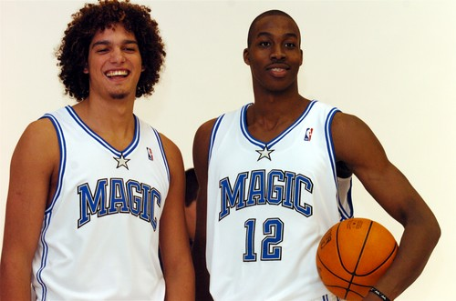Sadly, it was Orlando who originally drafted Anderson Varejao with the 30th overall pick in the 2004 NBA Draft. Varejao's rights were later traded to Cleveland, however.
