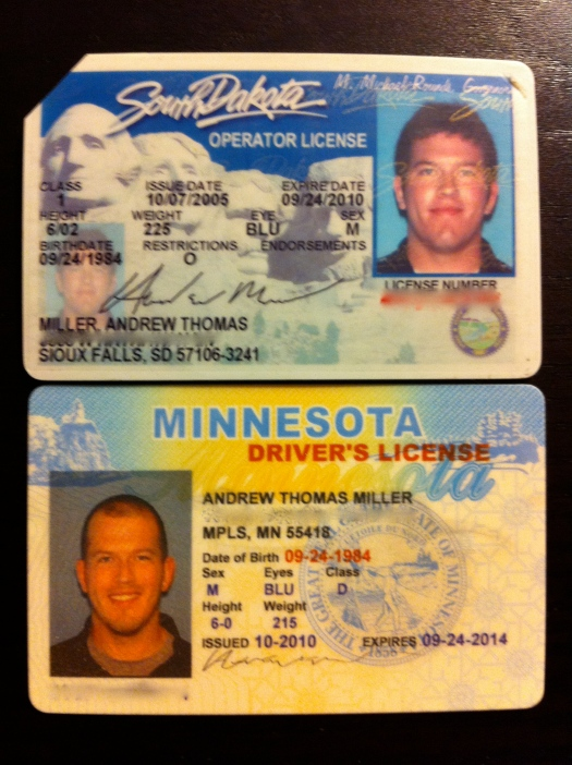 my new driver's license and a five-year retrospective – the miller times