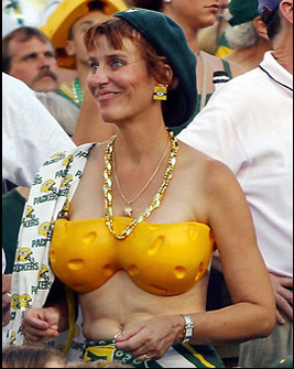 I call her a Packers fan. Someone in Green Bay calls her mom.